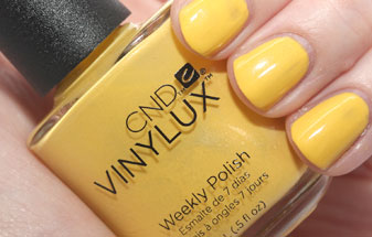 CND yellow polish