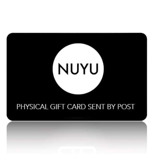 NUYU GIFT CARD VIA POST